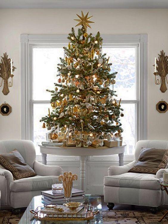Tendencias para decorar tu arbol de navidad 2017 2018 3 for Decoracion navidad 2017 tendencias