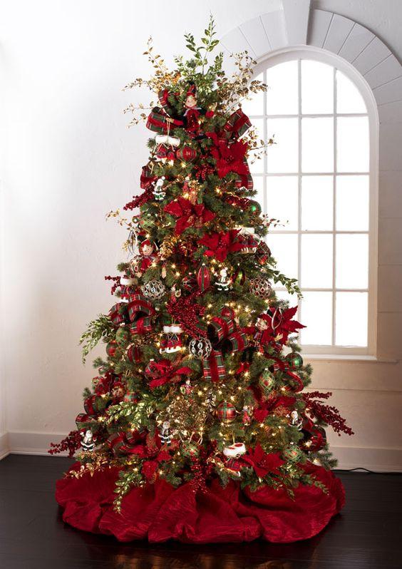 Tendencias de navidad 2018 rboles decoraciones y m s - Como decorar mi arbol de navidad ...