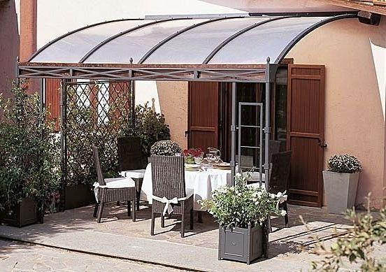 Toldos de jardin coberti toldo horizontal motorizado para prgola de aluminio en porche de - Toldos de jardin ...
