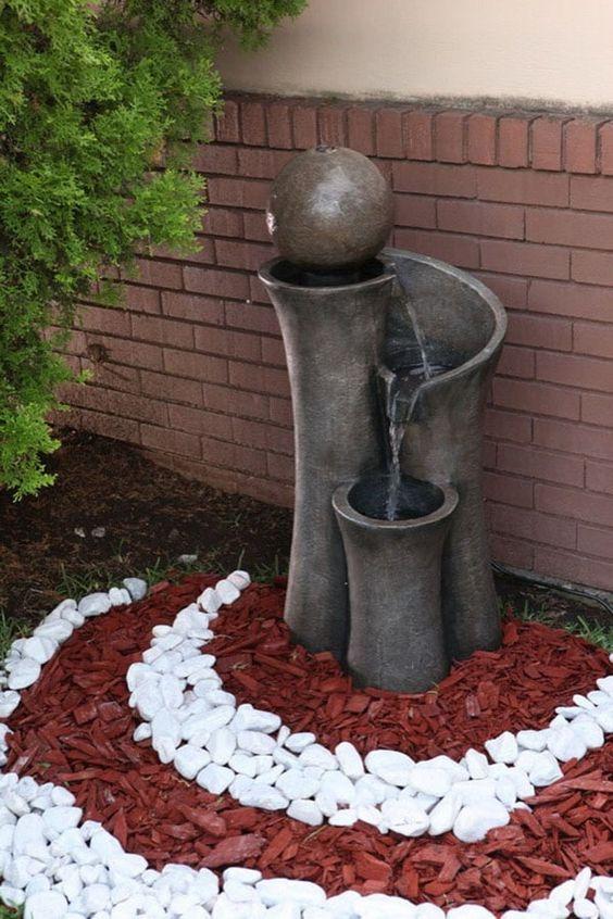 Fuentes para patios estanque estilo zen koi patio for Fuentes para patios