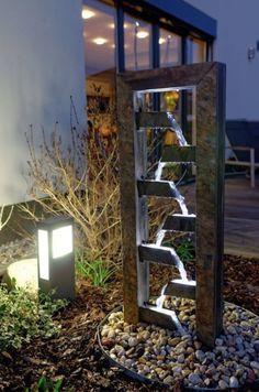 Fuentes modernas para jardin