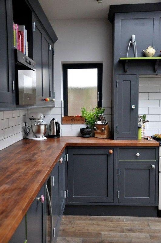 25 cocinas pequenas en forma de l 8 curso de decoracion de interiores interiorismo - Cocinas en forma de l pequenas ...