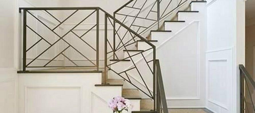 25 dise os de barandales para escaleras interiores y - Barandales modernos para escaleras ...