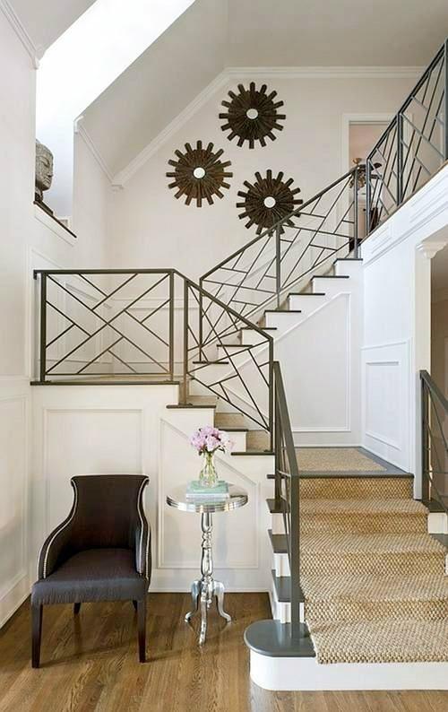 25 dise os de barandales para escaleras interiores y - Disenos de escaleras para casas ...