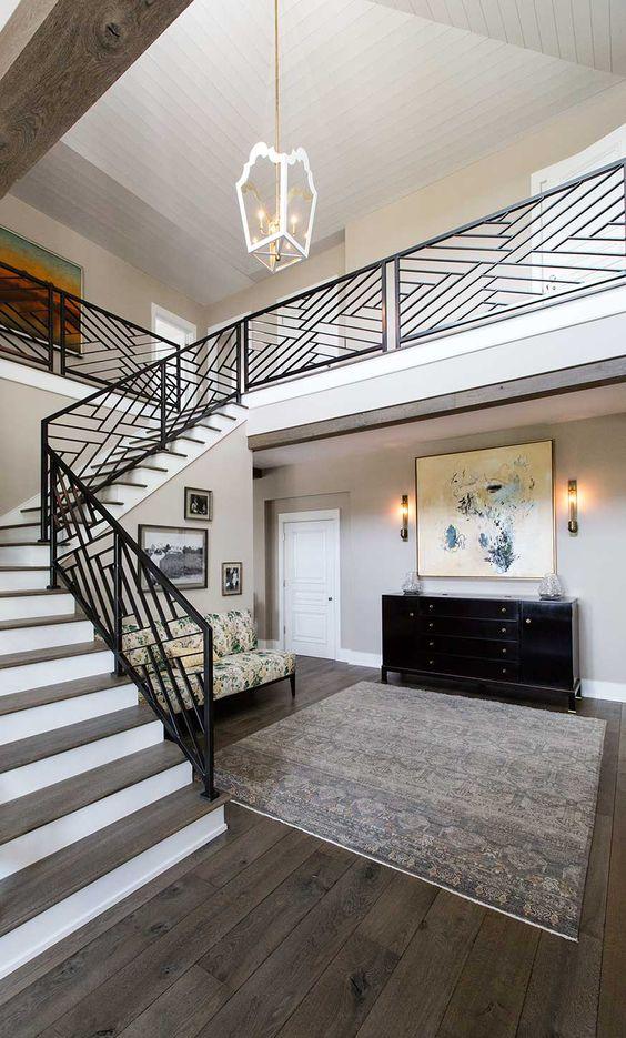 25 disenos de barandales para escaleras interiores y exteriores 20 curso de decoracion de - Escaleras de diseno interior ...