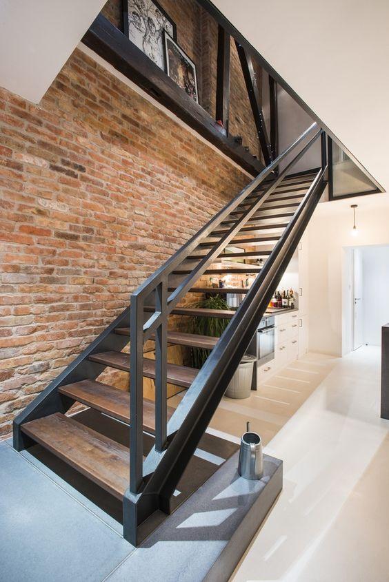 diseos de barandales para escaleras interiores y exteriores