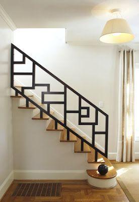 25 disenos de barandales para escaleras interiores y for Disenos para escaleras interiores