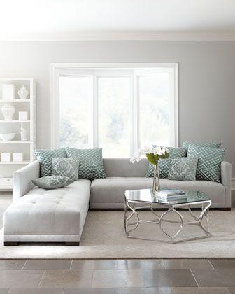 Decoración de salas grises