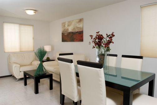 Comedores modernos para espacios pequeos interesting - Colores para comedores modernos ...
