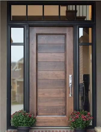 Ideas de puertas principales que le darán un toque único a tu hogar
