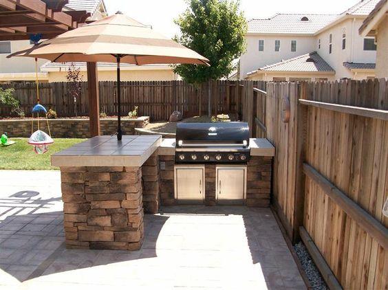 patios pequenos con asador para que te inspires a renovar
