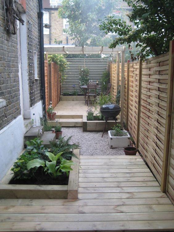 Patios pequenos con asador para que te inspires a renovar for Jardineras para patios pequenos