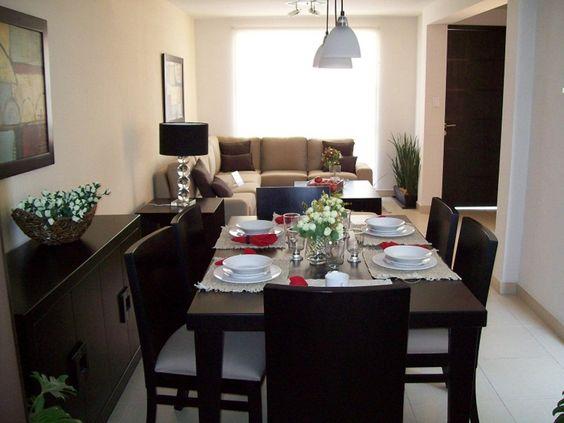 Sala y comedor juntos 11 curso de decoracion de for Sala y comedor completos