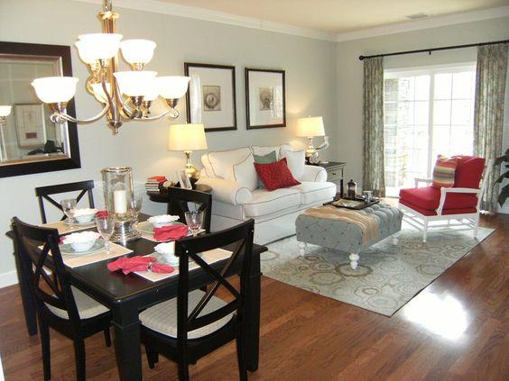 Decoracion de sala y comedor juntos decoracion de - Como decorar un despacho en casa ...