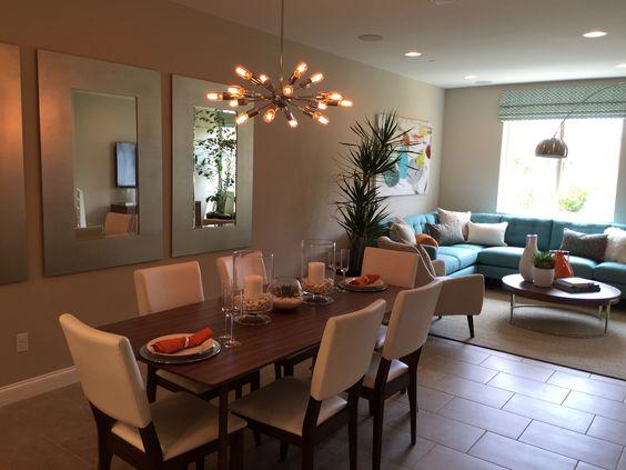 Sala y comedor juntos 18 curso de decoracion de for Como decorar sala y comedor juntos