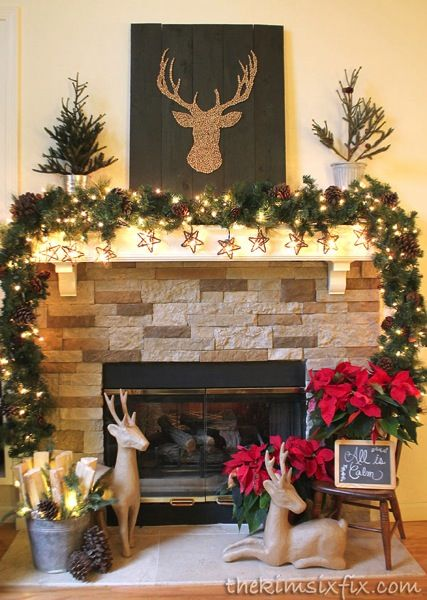 Ideas For Decorating Fireplace Mantels