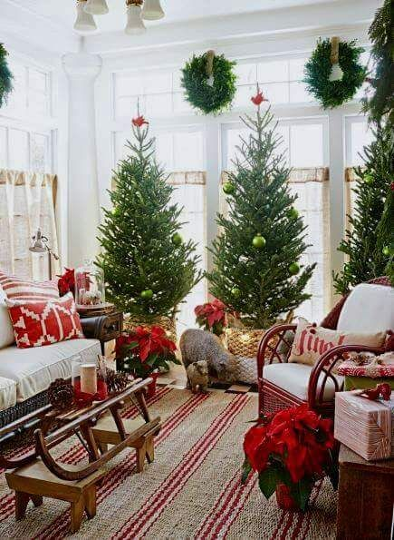 2018 tendencias de navidad 24 decoracion de interiores for Decoracion navidad 2018 tendencias
