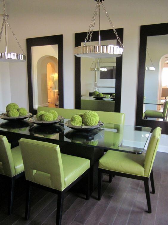 25-comedores-decorados-con-espejos (11) | Curso de Decoracion de ...