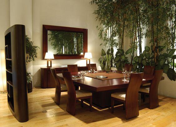 25-comedores-decorados-con-espejos (12) | Curso de Decoracion de ...