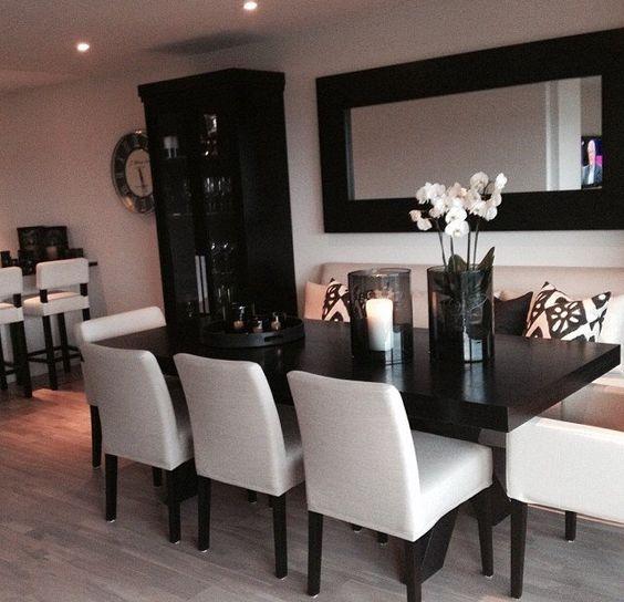 25-comedores-decorados-con-espejos (8) | Decoracion de interiores ...