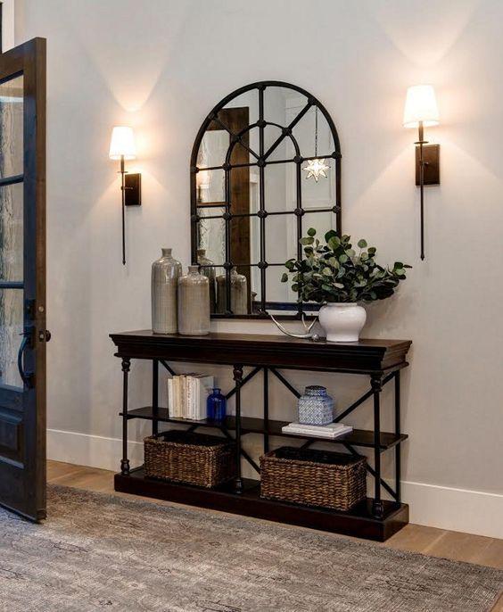 25 ideas para la entrada de tu casa 12 decoracion de - Ideas para decorar una entrada de casa ...