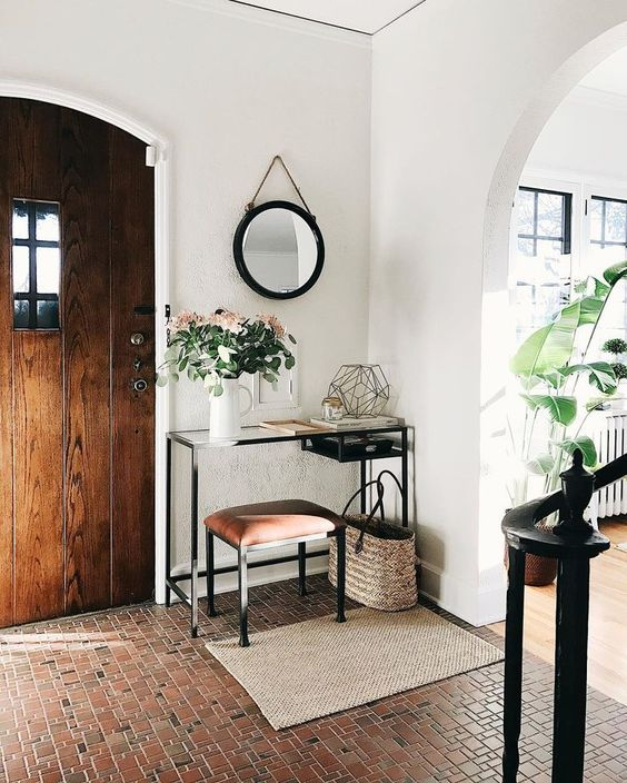 25 ideas para la entrada de tu casa decoracion de for Ideas para decorar la entrada de tu casa