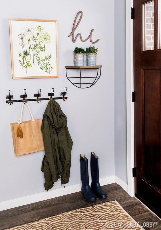25 ideas para la entrada de tu casa decoracion de - Ideas para decorar una entrada de casa ...