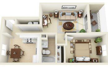 planos de casas pequenas infonavit