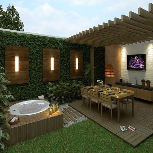 Dise os de patios y jardinesdise os de patios y jardines for Jardines pequenos simples