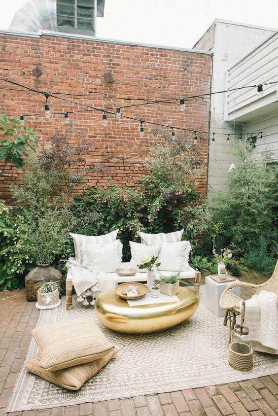 Decoracion de patios pequeños sin cesped