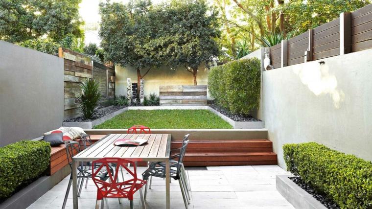 dise os de patios y jardines decoraci n de exteriores On diseños de jardines y patios