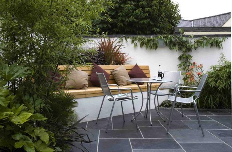 Dise os de patios y jardines decoraci n de exteriores for Disenos jardines para patios pequenos