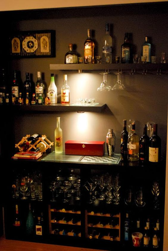 Bares en casa diseno 15 decoracion de interiores - Bares para casas ...