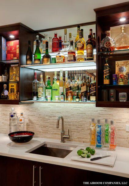 Bares en casa diseno 25 decoracion de interiores - Disenos para bares ...