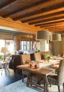 Comedores de mimbre - decoración ideal para verano