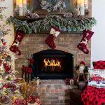 Como decorar chimeneas en navidad