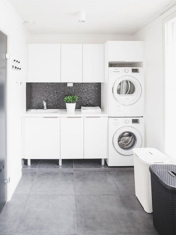 cuarto-de-lavanderia-elegante (20) | Decoracion de ...