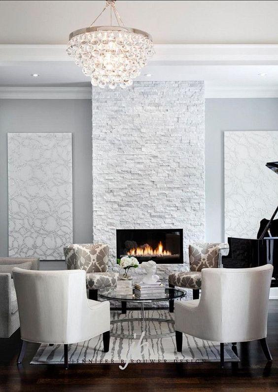 Decoracion De Interiores Con Piedra Blanca 13 Curso De - Decoracion-con-piedras-en-interiores