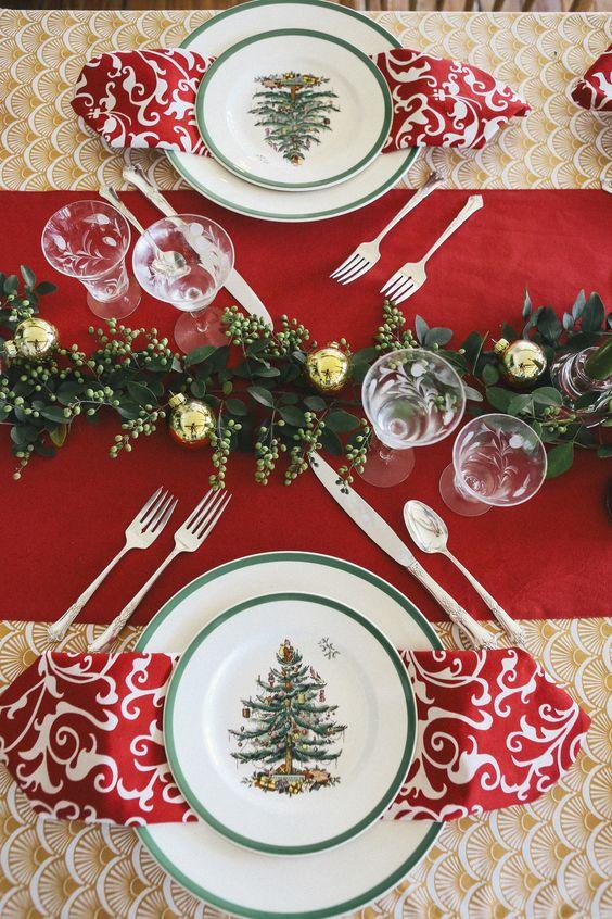 Decoracion de mesas elegantes para cena navidena 21 for Decoracion navidena elegante
