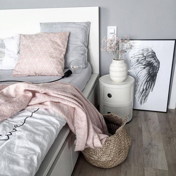 Decoración moderna en color gris