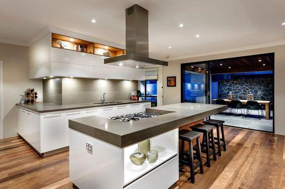 Dise os de barras de cocinas modernas curso de decoracion de interiores interiorismo - Ultimos disenos de cocinas ...