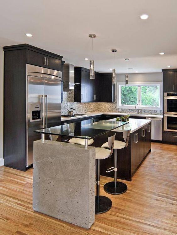 Disenos de barras de cocinas modernas 3 curso de for Diseno de interiores clasico