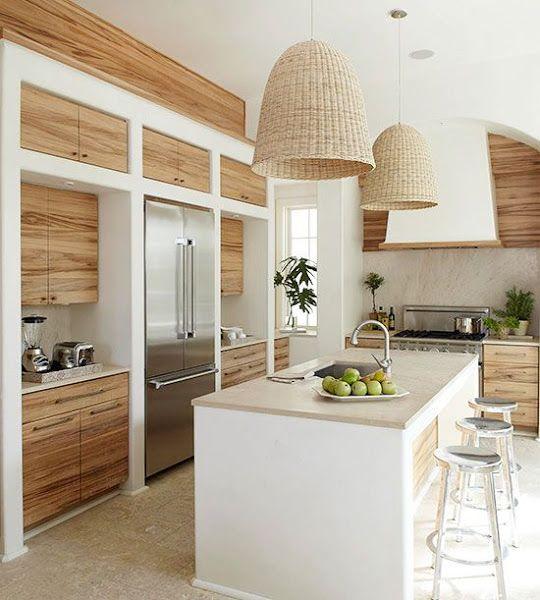 Diseños de barras de cocinas modernas