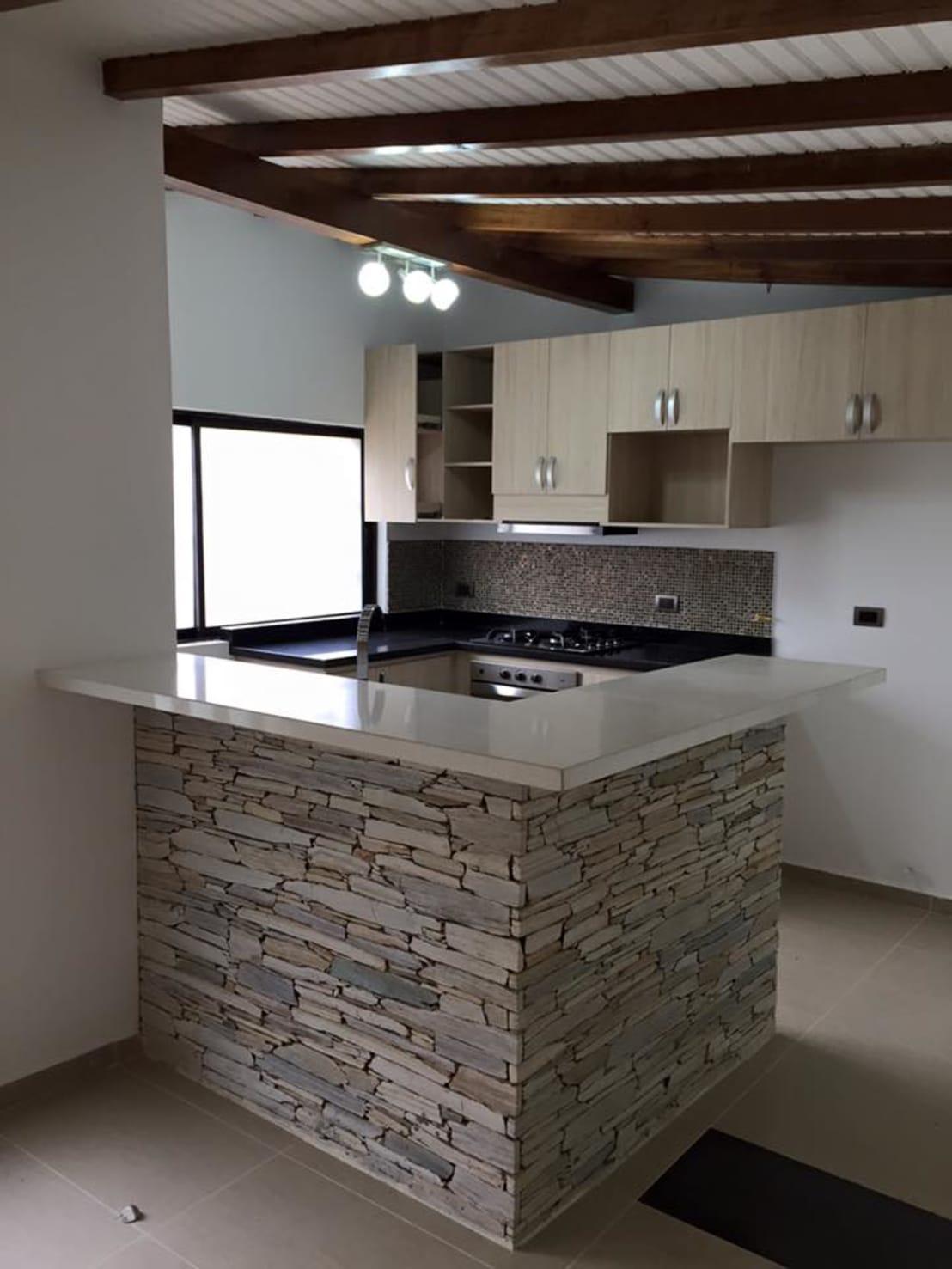 disenos de barras de cocinas modernas (6) | Decoracion de interiores ...