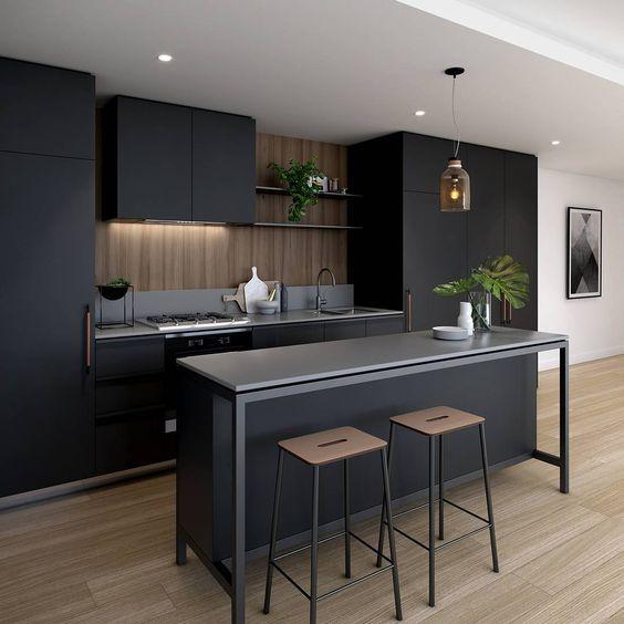 disenos-de-barras-de-cocinas-modernas (8) | Decoracion de interiores ...