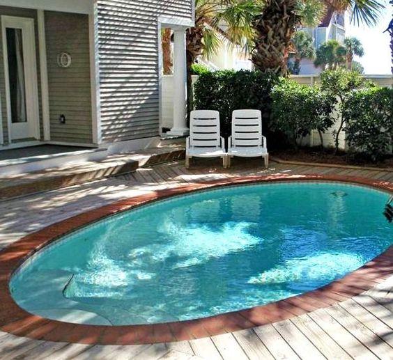 Disenos de piscinas pequenas pero con mucho estilo 23 - Decoracion piscinas pequenas ...