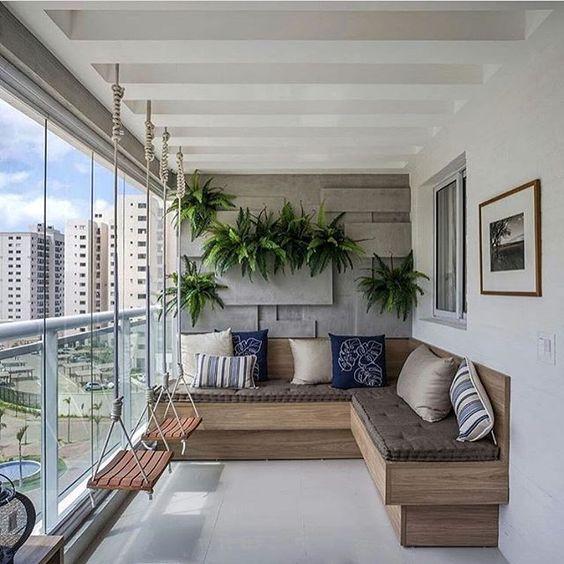 Ideas para balcones modernos 18 decoracion de for Decoracion balcones modernos