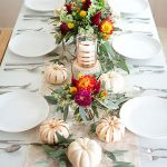 Ideas para decorar la mesa en acción de gracias