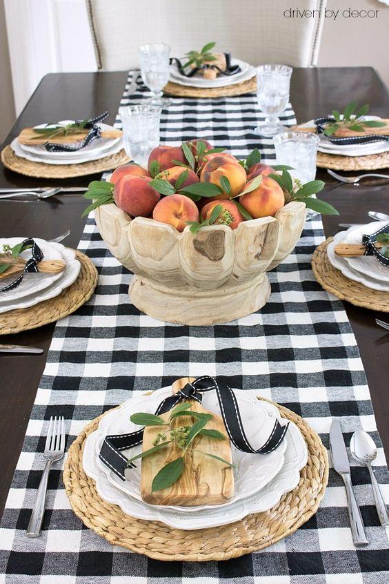 Ideas para decorar la mesa en accion de gracias 20 for Decoracion de mesa para accion de gracias