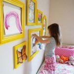 Ideas para decorar la pared en el cuarto de nuestros pequeños